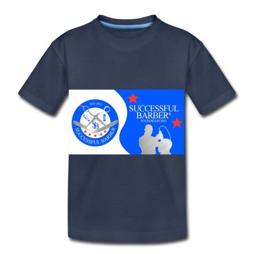 Official Successful Barber - Toddler Premium T-Shirt