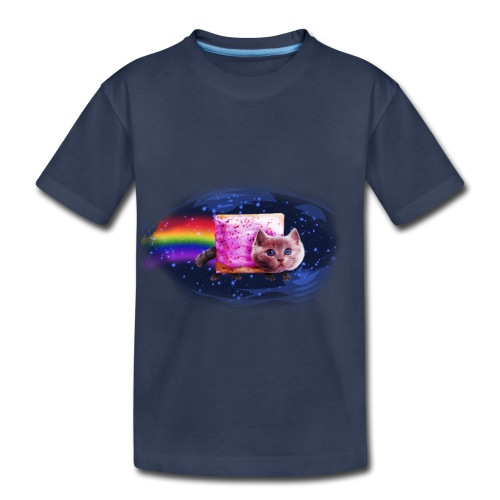 Space Cat - Toddler Premium T-Shirt