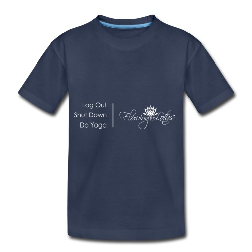 Yoga as a Priority - Toddler Premium T-Shirt