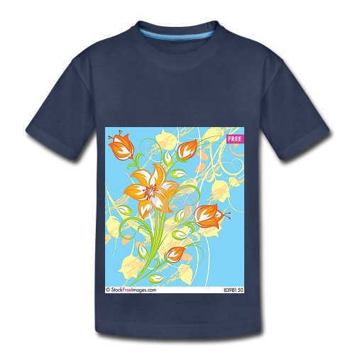 flowers67 - Toddler Premium T-Shirt