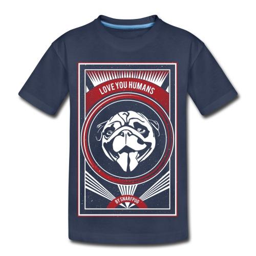 Cool Pug - Toddler Premium T-Shirt