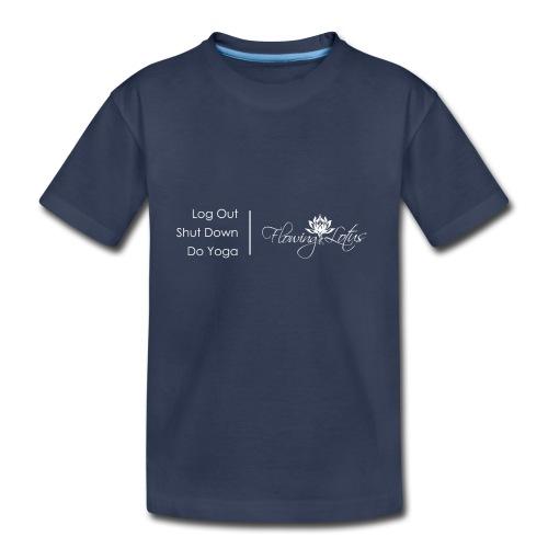 Yoga as a Priority - Toddler Premium T-Shirt