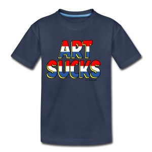 Art Sucks American Hero - Toddler Premium T-Shirt