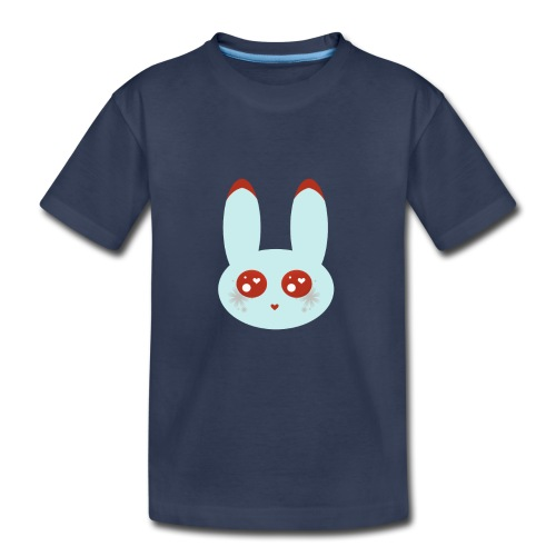 blue bunny - Toddler Premium T-Shirt