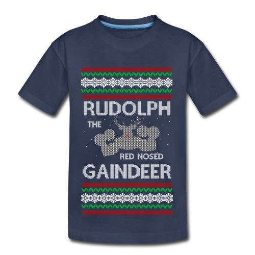 Rudolph the Gaindeer - Toddler Premium T-Shirt