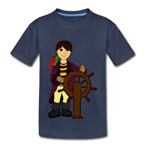 Alex the Great - Pirate - Toddler Premium T-Shirt