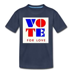 vote4love-sample - Toddler Premium T-Shirt