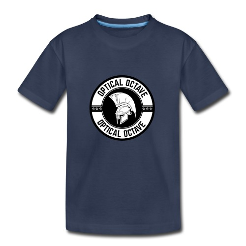 Optical Octave Logo - Toddler Premium T-Shirt