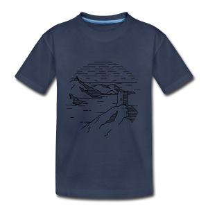 Line landscape - Sea - Toddler Premium T-Shirt