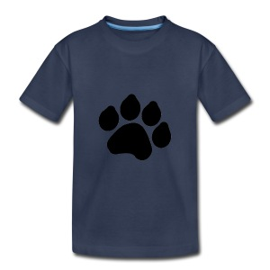 Black Paw Stuff - Toddler Premium T-Shirt