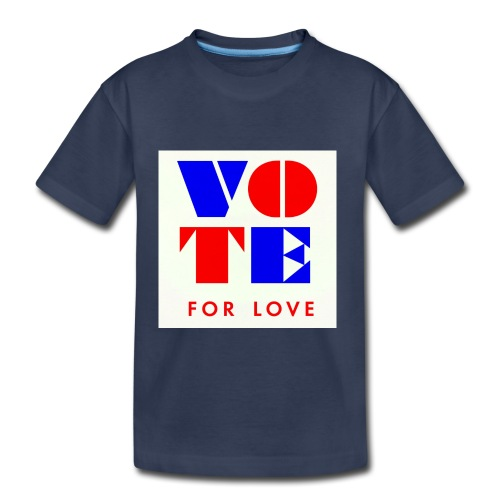 vote4love-sample - Toddler Premium T-Shirt