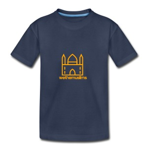 WeTheMuslims Official Merchandise - Toddler Premium T-Shirt