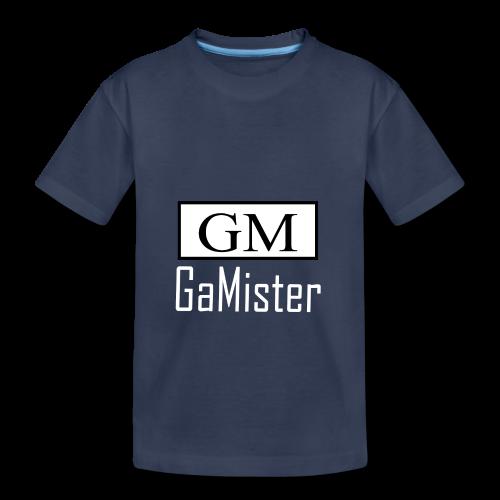 gamister_shirt_design_1_back - Toddler Premium T-Shirt