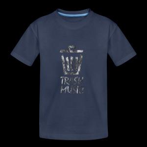 Grey Trash Logo - Toddler Premium T-Shirt