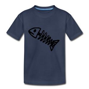 Bass Bones - Toddler Premium T-Shirt