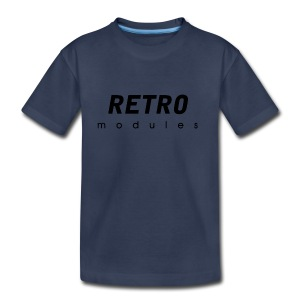 Retro Modules - sans frame - Toddler Premium T-Shirt