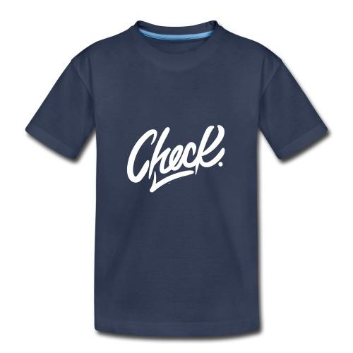 Check hoodie - Toddler Premium T-Shirt
