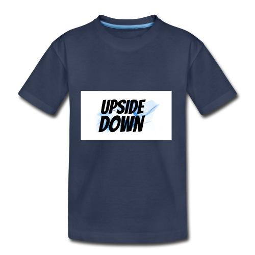 UPsideDOWN Iphone Cover - Toddler Premium T-Shirt