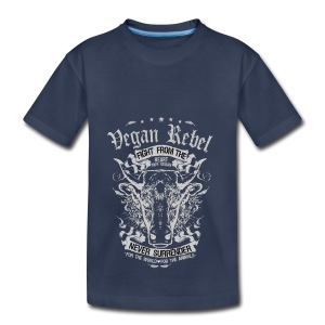Vegan Rebel - Toddler Premium T-Shirt