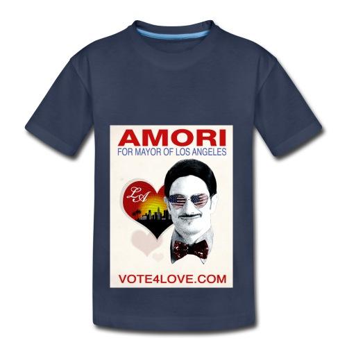 Amori for Mayor of Los Angeles eco friendly shirt - Toddler Premium T-Shirt