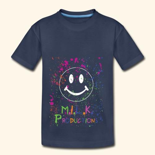 M.I.L.K. Color Splatter T-Shirt - Toddler Premium T-Shirt