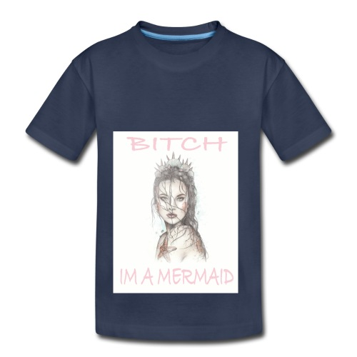 MermaidDeisgn_#1 - Toddler Premium T-Shirt