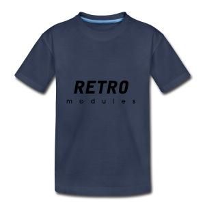 Retro Modules - sans frame - Toddler Premium T-Shirt