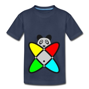 SCIENCE PANDA - Toddler Premium T-Shirt