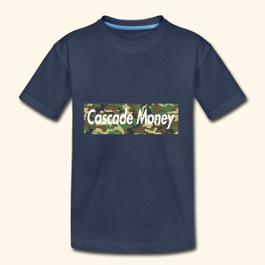 Cascade money camo - Toddler Premium T-Shirt