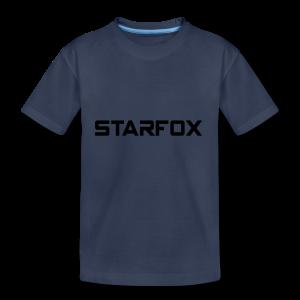 STARFOX Text - Toddler Premium T-Shirt