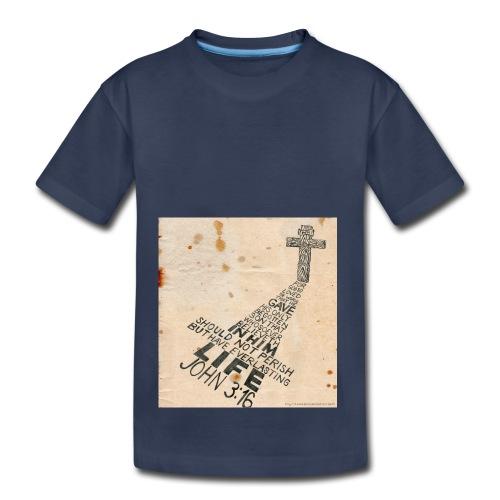 john3:16 - Toddler Premium T-Shirt