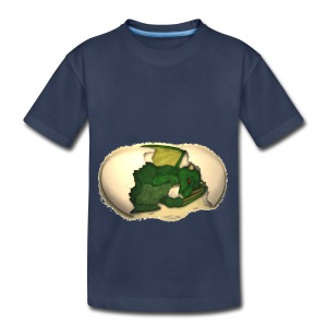 The Emerald Dragon of Nital - Toddler Premium T-Shirt