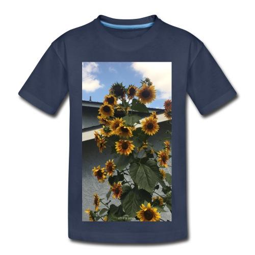sunflower shirt - Toddler Premium T-Shirt