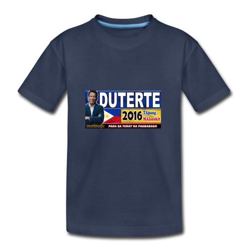 Duterte Icon - Toddler Premium T-Shirt