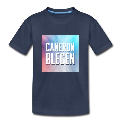 CAMERON BLEGEN OFFICIAL - Toddler Premium T-Shirt