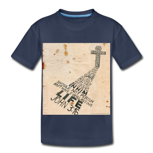 john3:16 - Toddler Premium T-Shirt