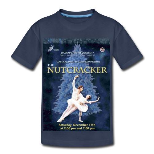 CBC Nutcracker Product - Toddler Premium T-Shirt