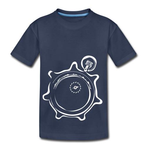 Athlete Engineers Stopwatch - White - Toddler Premium T-Shirt
