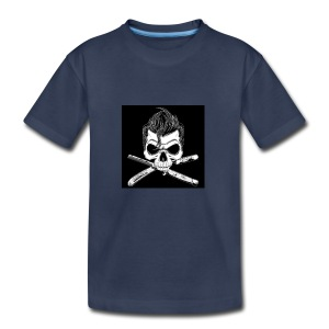 Greaser skull - Toddler Premium T-Shirt