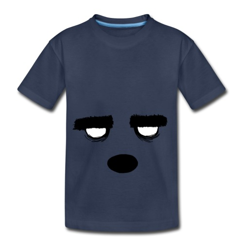Women's Style Grumpy Bear Face - Toddler Premium T-Shirt