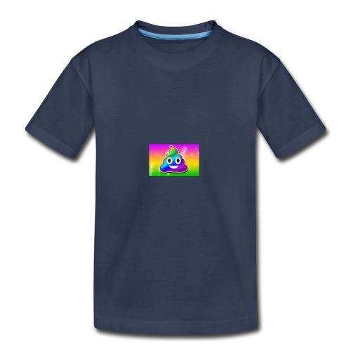 rainbow poop - Toddler Premium T-Shirt