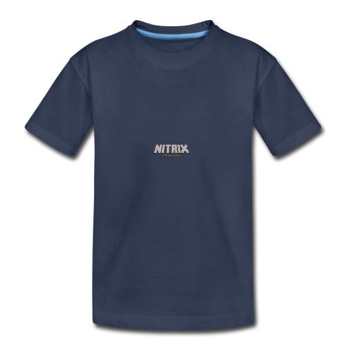 Nitrix Second Logo - Toddler Premium T-Shirt