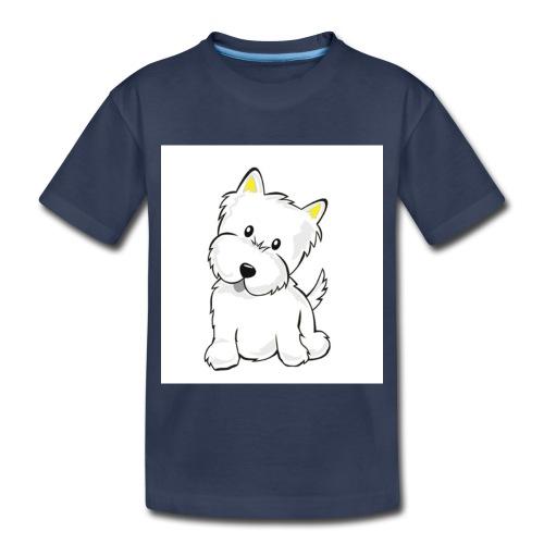 cute pup - Toddler Premium T-Shirt