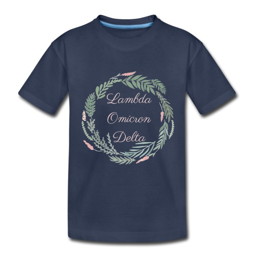 LOD Flower Wreath 1 - Toddler Premium T-Shirt