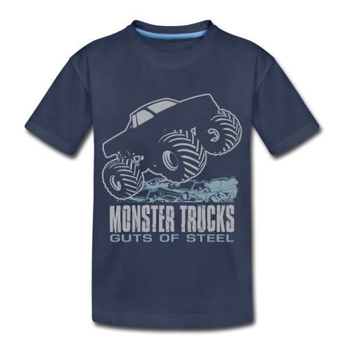 Monster Truck Guts - Toddler Premium T-Shirt