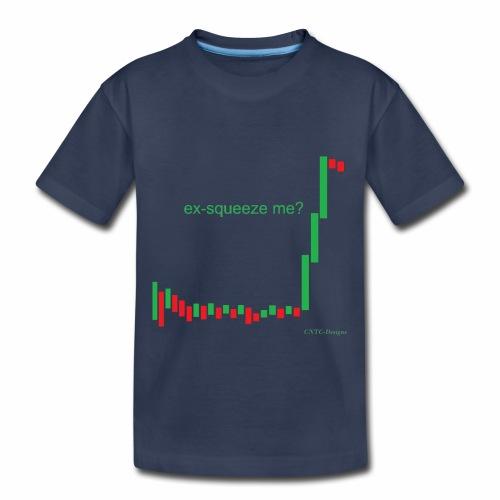 ex-squeeze me? - Toddler Premium T-Shirt