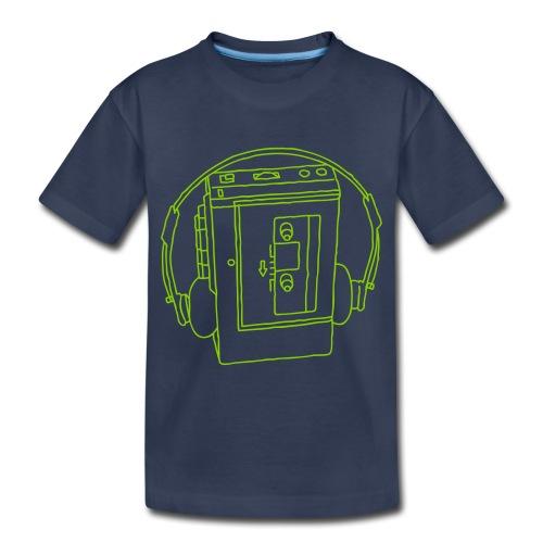 Walkman Portable cassette - Toddler Premium T-Shirt