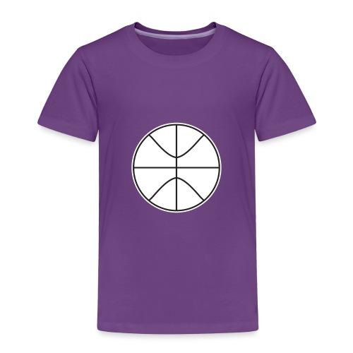 Basketball black and white - Toddler Premium T-Shirt