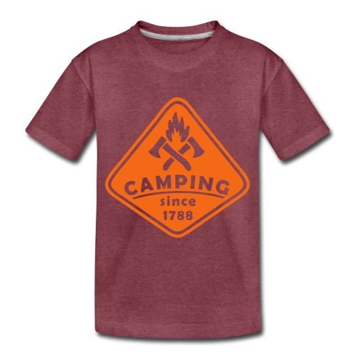 Campfire - Toddler Premium T-Shirt