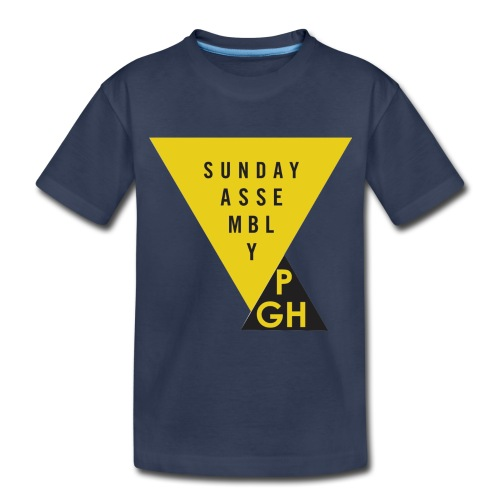 Sunday Assembly Pittsburgh Logo - Toddler Premium T-Shirt